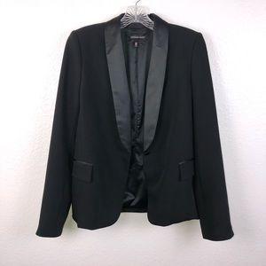 Victoria secret size 12 black blazer jacket coat